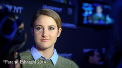 Shailene Woodley (FunkyPepper) Tags: red toronto ontario canada movie carpet premier divergent shailenewoodley