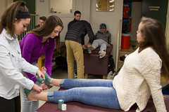 Sports Med-8426 (New Hampton School) Tags: adamtyson athletictraining sportsmedicine