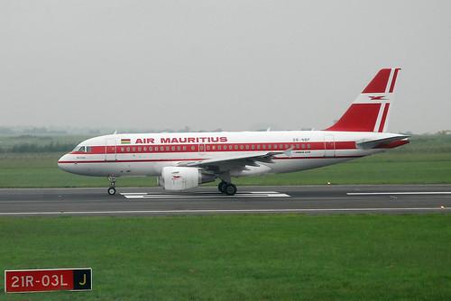 Air Mauritius Airbus A319 3B-NBF