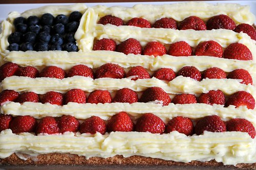 pictures of fourth of july cakes. I made for Fourth of July.