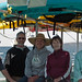 (L-R) Mike Baird, Steve Cohen, Rouvaishyana, Betty Tegner, Ron Gabel. Three-Day Kayak and Hiking Tour of the Channel Islands (San Miguel, Santa Rosa, Santa Cruz)
