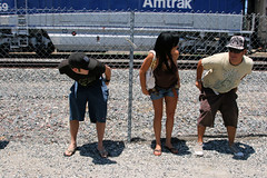 IMG_1540 (moonamtrak) Tags: girls moon girl train butt amtrak mooning laguna flashing metrolink amtrack niguel