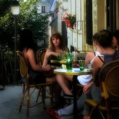 Tell us !! (jeanmarcrocfort) Tags: street woman paris france lumix mujer candid femme stolen hdr picnik orton carr parigi   photomatix gh1 vol   robato jeanmarcrocfort