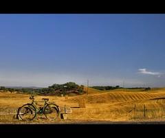 """Anacleta"" in Alentejo - Portugal (Nöé) Tags: portugal bike rural bicicleta planet campo lonely lanscape nbike nöé lpwheels noeliamagnusson wwwnoeliamagnussoncomnöénoemagnusson nöémagnusson"
