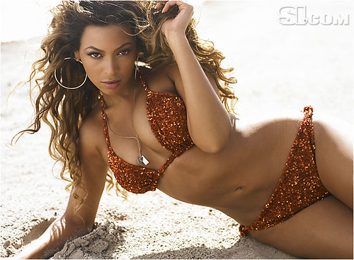 Beyonce Knowles on Sports Illustrated