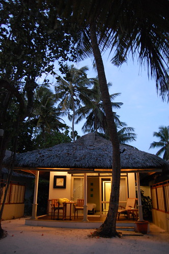 Our Villa at Dusk