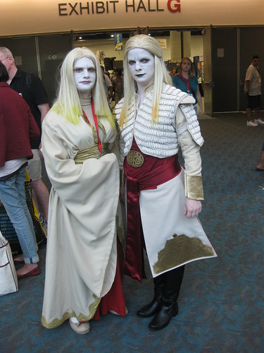 Awesome Costumes at SDCC this Year - Princess Nuala and Prince Nuada