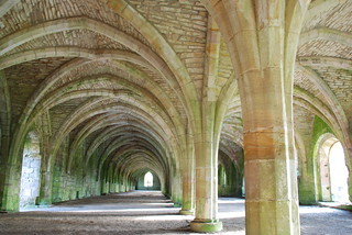The Cellarium.  Fountains Abbey...North Yorkshire