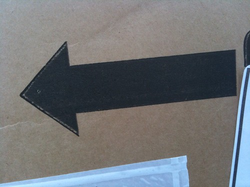 Bowery dingbat: this way up mattress box