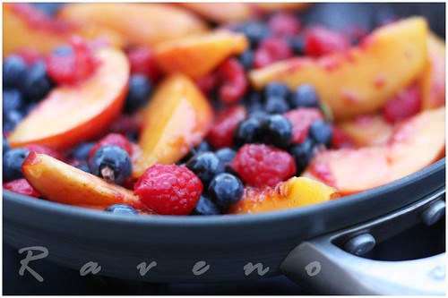 fruit flambe