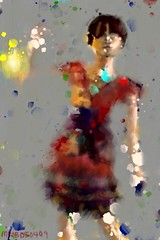 A Pretty Dress (MiaBia_DC) Tags: art mobile digital painting ipod dress finger touch brushes pollock fa fingerpainting fingerpaint iphone mobileart itouch