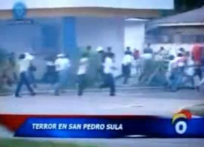 Riots Of Peace In Honduras