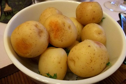 Boiled Fingerling Potatoes