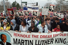Dr. Martin Luther King Jr. Day march, 2003