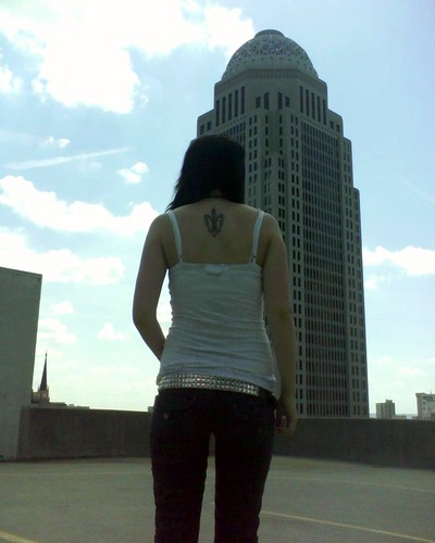 My life. fleur de lis tattoo