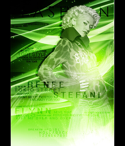 171.Gwen Stefani - Fashion Magazine