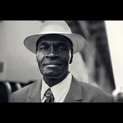 A stranger: Meet in the street (Benoit.P) Tags: street portrait bw man eye art classic noir mood montral benoit montreal stranger et blanc paille artlibres benoitp