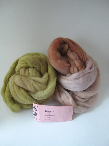Verb Fiber Club Hollyhocks