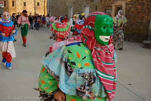 Carnavales de Villanueva de Valrojo en Codesal, Agosto 2009
