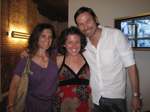 Andrea Linett, Sara, Michael Waring