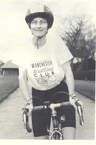 Sheila Hampson in MTC T shirt - 1990