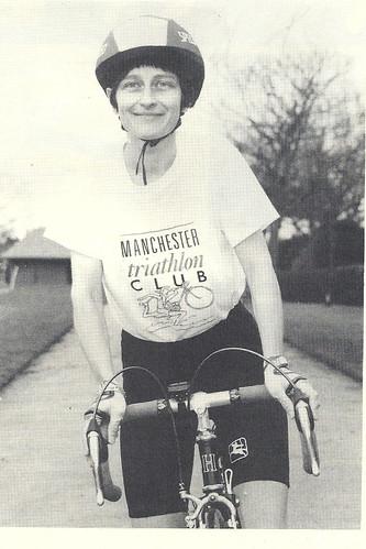 Sheila Hampson in MTC T shirt - 1990