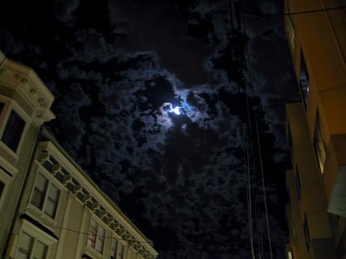 The Moon, Waxing