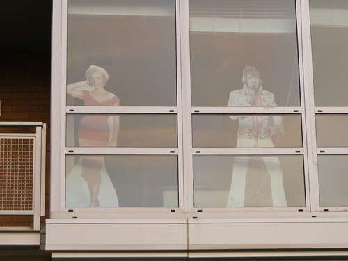 Marilyn and Elvis, Somebody's Veridian Apartment Window