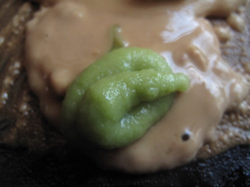 PB sauce with wasabi