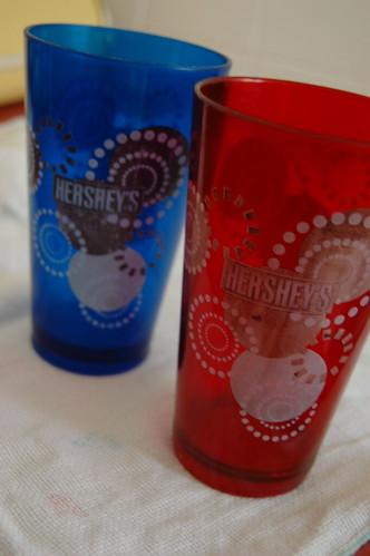Copos Hershey's brindes
