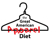 The Great American Apparel Diet logo