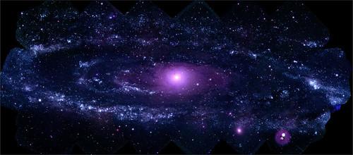 Andromeda Galaxy (ultraviolet)