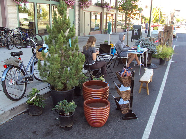 Parkingday.org in Spokane Washington