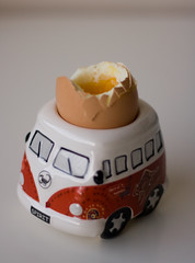 #9 - breakfast (jonoakley) Tags: morning food cup vw breakfast project volkswagen sunday egg 365 camper campervan