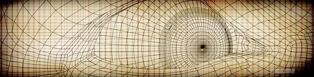 Screen shot Pastelloïdale HUD LeCollagiste VJ 2009