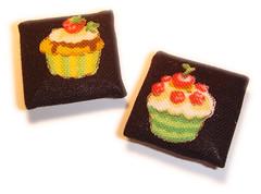 Botes cupacakes (ZIRIPITI { sonhar } ) Tags: cupcakes quadrados botes