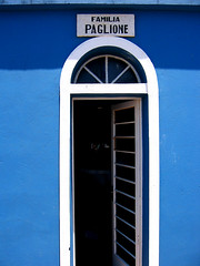 Familia PAGLIONE (joaobambu) Tags: door blue brazil friedhof familia azul brasil saopaulo famiglia blu rip cemetary brasilien porta blau tür brasile echapora paglione