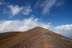 青空の山頂