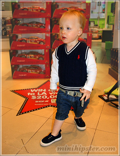 FLETCHER. MiniHipster.com: children's childrens clothing trends, kids street fashion, kidswear lookbook