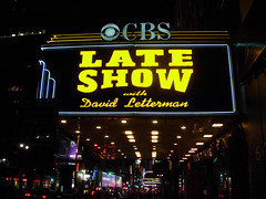 Late Show with David Letterman (navema) Tags: nyc ny newyork television manhattan host cbs davidletterman lateshowwithdavidletterman talkshow edsullivantheatre talkshowhost navema