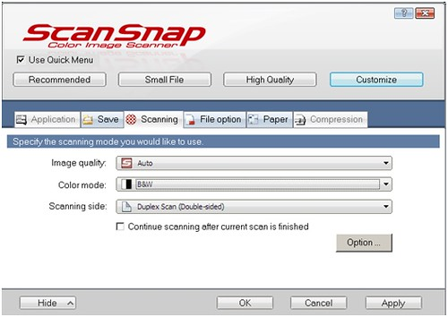 Did You Know You Can Scan Documents with Your ScanSnap and Send Them to Your Kindle DX*?