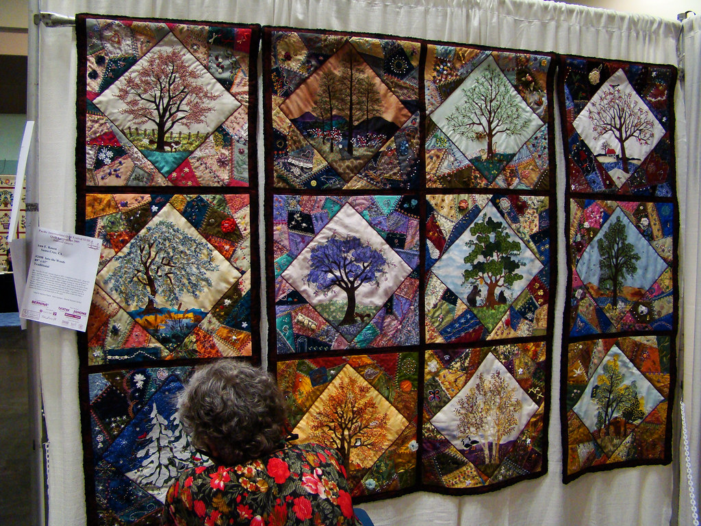 DSC02718 Quilt 2098 Into the Woods by Ann E Rauen