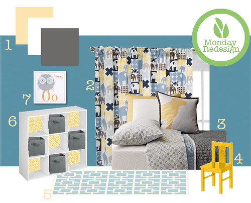 Monday Redesign: Toddler Boy Room - Dose of Happy