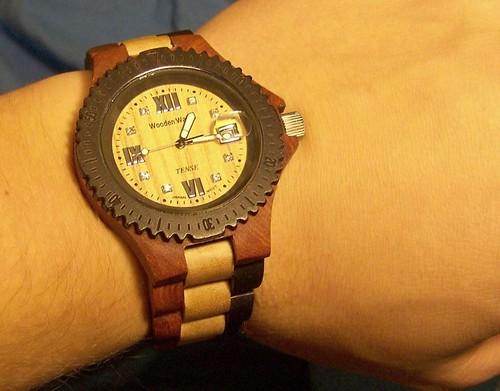 Tense Wood Watch