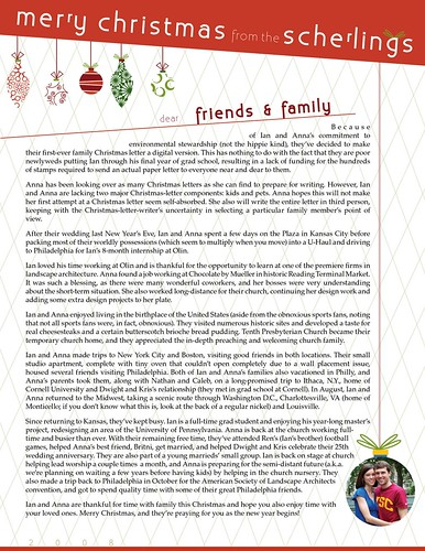 anna and ian: life on the green line: Our 2008 Christmas ...