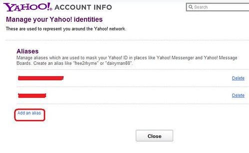 Yahoo Alias 6