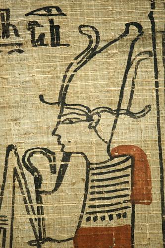 book of the dead of Taiuherit (RMO Leiden, 3rd intermediate period, 21d)