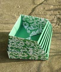 """""""Nesting Boxes"""" von Tomoko Fuse (Tagfalter) Tags: origami box tomokofuse"""
