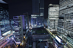 Samsung Complex_Gangnam, Seoul Korea (KoreaBrand-01) Tags: light night shot samsung korea seoul nightview kangnam southkorea 2009 nigth gangnam   seocho  republicofkorea  flickraward spiritofphotography  rpubliquedecore poblachtnacir
