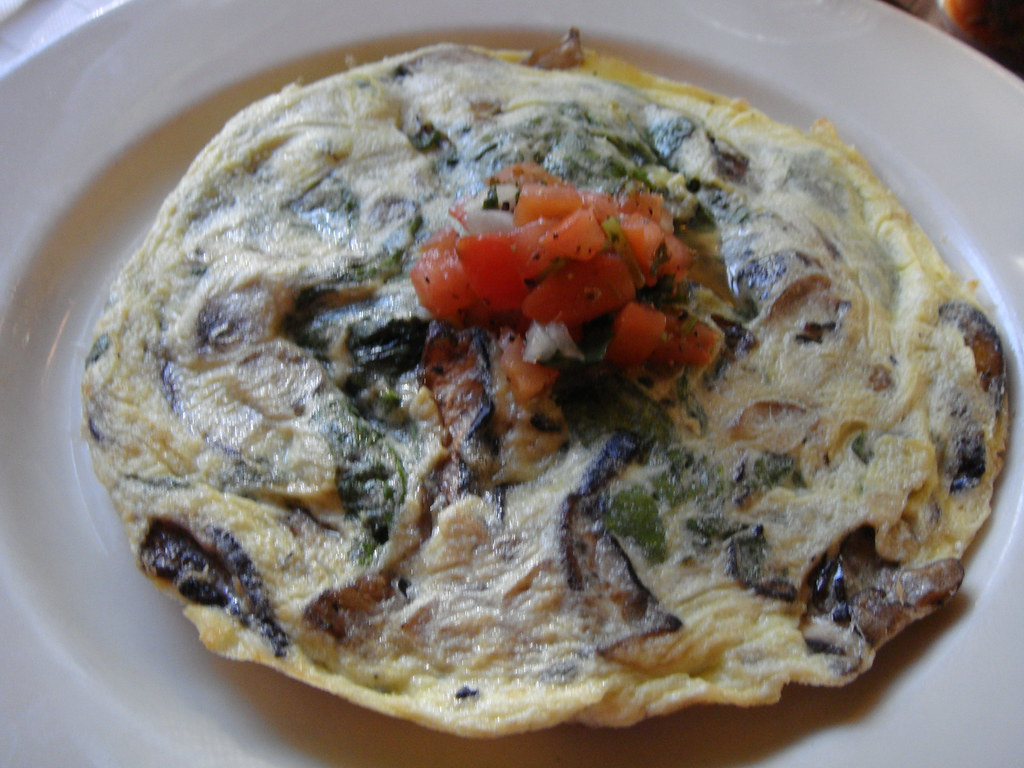 Spinach and Mushroom Frittata